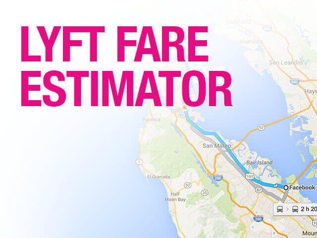 Lyft Quote Fair Lyft Fare Estimator  Lyft Cost Estimate Online